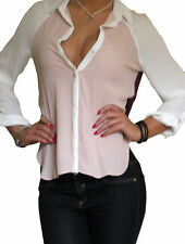 Unbranded Chiffon Classic Collar Blouse Women's Tops & Shirts