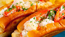 Get Maine Lobster - Maine Lobster Roll Kit (12 pack) w/ FREE SHIPPING