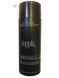 Toppik Hair Building Fibers - Giant 55g / 1.94 oz - Dark Brown - Ships Fast!