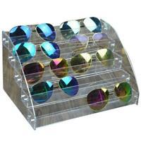 Eyeglasses Display Holder Sunglasses Storage Tray Acrylic Box Organizer 0YP0