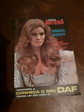 Raquel Welsh cover magazine 1970 Portuguese edition  tv and radio RTP vintage