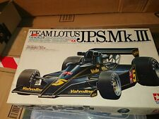 1/12 Tamiya Classic Lotus 78 JPS Mk III F1 Model kit.