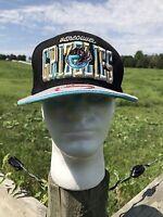 Vancouver Grizzlies New Era Hardwood Classics SnapBack Hat Cap Rare