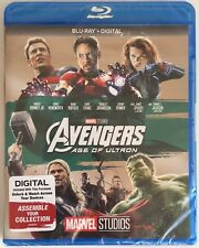 AVENGERS ~ AGE OF ULTRON ~ Blu-Ray + Digital *New *Factory Sealed