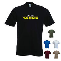 'USCSS NOSTROMO' Alien Movie T-shirt Tee