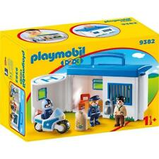 PLAYMOBIL 9382 Commissariat de police transportable