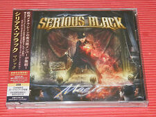 2017 JAPAN CD SERIOUS BLACK Magic  with Bonus Track + LIVE CD