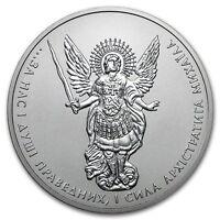 2017 Silver 1 Oz. Ukraine Archangel Michael BU