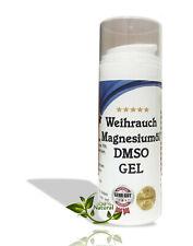 DMSO Gel Weihrauch bequeme Anwendung Dimethylsulfoxid 99,9% Reinheit Creme Salbe
