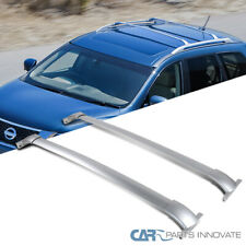 For 13-18 Nissan Pathfinder Roof Cross Bar Silver Crossbars Rack Luggage Carrier