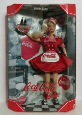 Coca-Cola Barbie 1st in Series Collector Edition Drive-in Waitress NIB NRFB