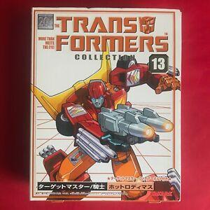 G1 Transformers Reissue - Takara Book Collection - 13 - Hot Rod - Mint