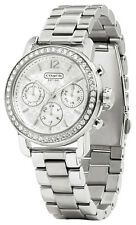 Coach 14501882 Legacy Sport Silver Dial Stainless Chronograph Women's Watch