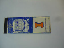 Vintage Matchbook Cover Illini Union  University of Illinois