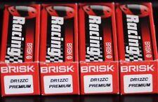 4 Brisk DR12ZC Spark Plug BMW R850R 850 R1100GS 1100 R1100R R1100RS R1100RT NEW