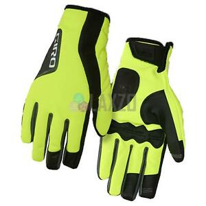 Giro Ambient 2.0 Water Resistant Cycle Gloves Highlight Yellow/Black 2XL