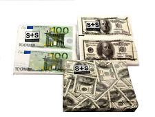 Tovaglioli di carta stampa con banconote
