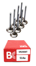 Brian Crower Stainless Steel Intake Valves x 8 - For Nissan S14a 200SX SR20DET