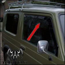 Deflettori Aria Antiturbo Oscurati Suzuki Samurai SJ Santana fino a 2001