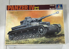 1/35 Italeri No 217 Panzer IV Ausf. F1, G