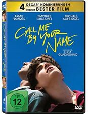Call me by your name DVD Neu und Originalverpackt