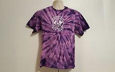 Woodstock New York Dove Guitar Adult Medium Tie Dye TShirt
