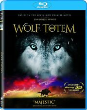 Wolf Totem 3D (Blu-ray + 3D Blu-ray) Jean-Jacques Annaud NEW