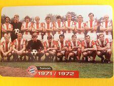 M05/2003 Auflage 2000 Stück Fussball FC Bayern Deutsche Meisterschaft 1971/1972