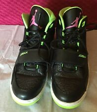 Air Jordan Men's Shoes Black Mid Top Sneakers Size 10.5 60266-017 2013