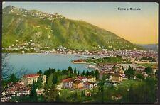 AX1771 Como e Brunate - Veduta generale - Cartolina postale - Postcard