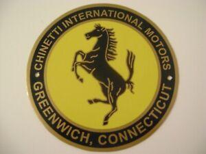 Chinetti International Motors Greenwich, Connecticut Ferrari Dealership Sign