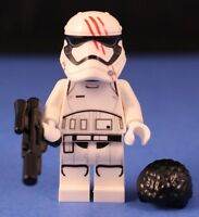 LEGO® STAR WARS™ FINN™ as STORMTROOPER Custom Minifigure Blood on Helmet detail