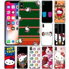 Cartoon Hello Kitty Anime Phone Case Cover For iPhone Samsung Galaxy Note 9