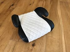 CARBON LEATHER DIAMOND STITCH BOOSTER CAR SEAT TODDLER MERCEDES G63 S63 C63 GL