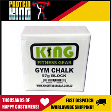 King Fitness Lifting Chalk 57g Block Weight Gym Rock Climbing Pole Dancing Power