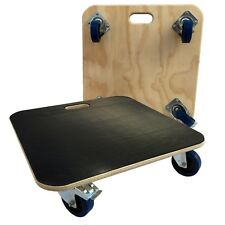 1 Brake 59x59 Furniture Skate Dolly Removal Moving Truck 600kg lc 10cm wheels