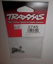 Traxxas Nuts 3mm Nylon Locking (12) #2745 NIP