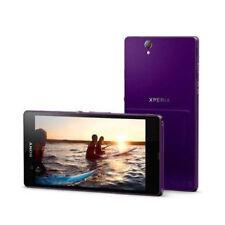 "5"" Unlocked Sony Ericsson Xperia Z C6603 -Purple 13.1MP Andorid OS Móviles libre"