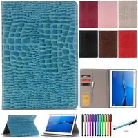 Fr Huawei MediaPad M5 10.8 /M3 8.4 /T3 8.0 10 PU Leather Smart Case Tablet Cover