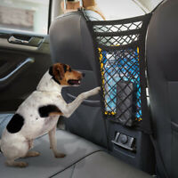 Car Dog Pet Barrier Guard Back Seat Safety Protector Mesh Net For SUV Truck Van