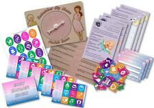 Baby Shower Party Game  -  3 GAMES  ~  Unisex  ~  up to 20 players
