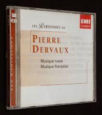Il Raro di pietra Dervaux : musica russa - musica francese (2 CD)