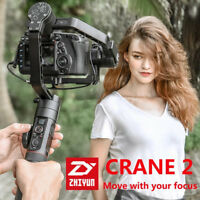 Zhiyun Crane 2 3Axis Handheld Stabilizer Gimbal for SONY Canon Nikon DSLR Camera