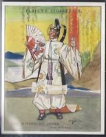 PLAYERS-GILBERT & SULLIVAN (2ND SERIES L25 LARGE CARD)-#10- MIKADO OF JAPAN