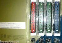 4 Doppelstock DB4yg 79001 79003 grün 79004 blau Wr4yge DB001 HERIS S4 H0 1:87 µ*