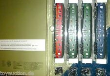 4 Doppelstock DB4yg 79001 79003 Green 79004 Blue Wr4yge DB001 heris S4 H0 1:87