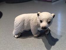 Schleich 14358 Eisbärjunges Eisbärkind Eisbärbaby - Wild Life - WIE NEU