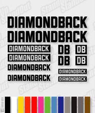 DIAMONDBACK Die-cut Decal Sticker sheet (cycling, mtb, bmx, bike, frame) - V9