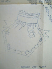 Apron Table set with fruits vintage transfer sheet pattern 037 from The Farmer