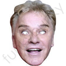 Freddie Starr Comedian Celebrity Card Mask - All Our Masks Are Pre-Cut!